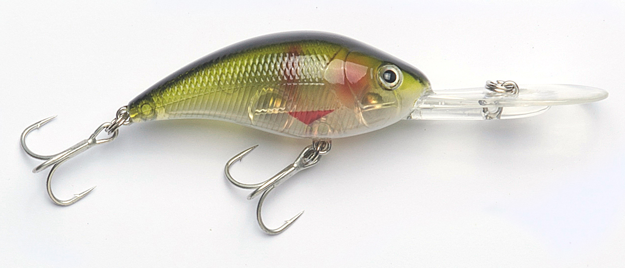 The finish on these STARLO PRO Lures has exceeded my expectations. This Crash Dive R 65 in the CI005 colour is a good example.