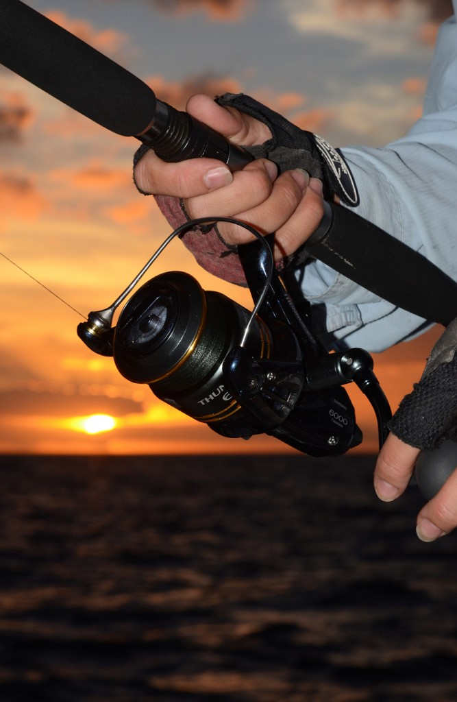 Setting the reel's drag correctly is vital, especially if taking on big, powerful fish.