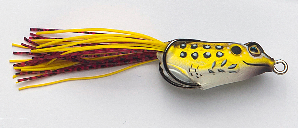 And some amazing topwaters like the Frog R 40.