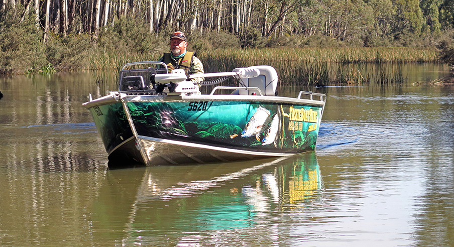 Tassie Boat Hire's 420 Quintrex Renegade rig is a complete turn-key package, ready for high end sport fishing in fresh or salt water and also tournament work.