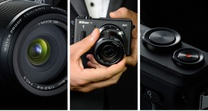 The Nikon AW1 is a mirrorless camera with inter-changeable lenses.