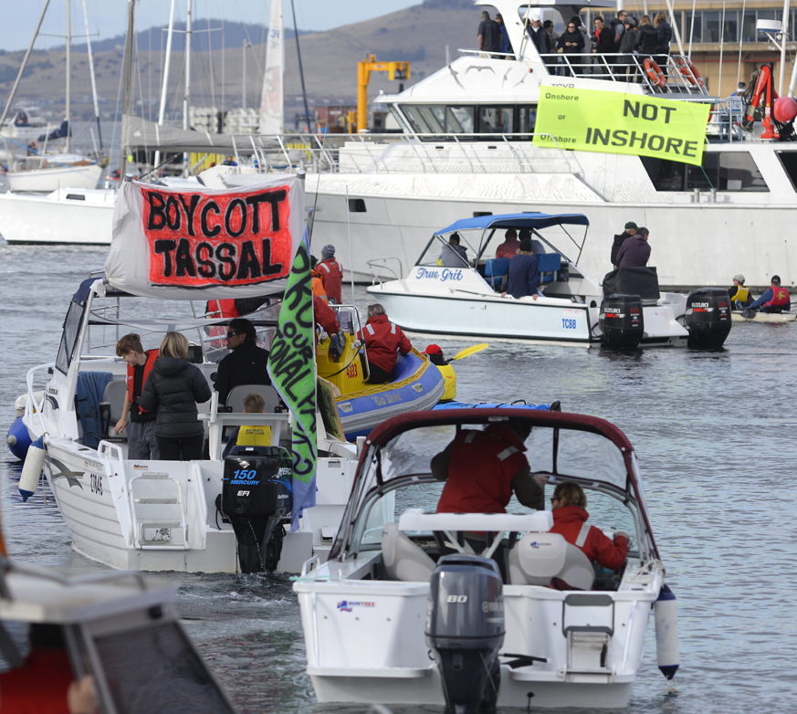 Public resistance to the proposed industrial-scale salmon farm at Okehampton Bay brought together an extremely diverse group of concerned people.